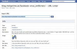 Facebook Linter 300x192 Fanpage Einladung mit Facebook Share oder Send