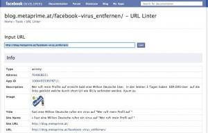 Facebook Linter